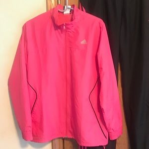 Pink Adidas Track Suit